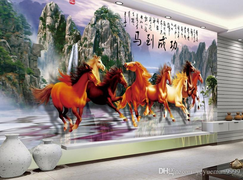 Custom Modern Wallpaper Horse Wallpaper For Walls 3 3 Horses