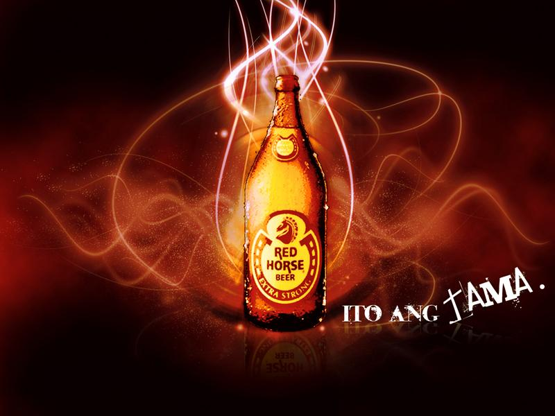 Red Horse Wallpaper Red Horse Beer Background 1893584 Hd