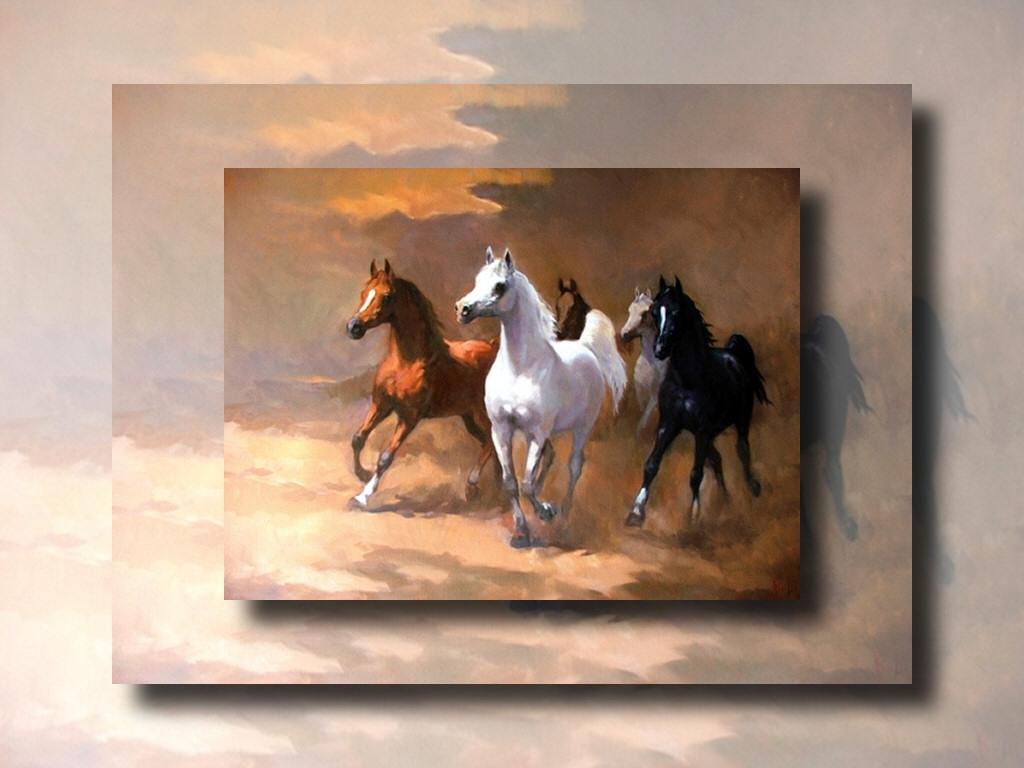 Arabian Horses Wallpaper Black Arabian Galloping Horses 1894334 Hd Wallpaper Backgrounds Download