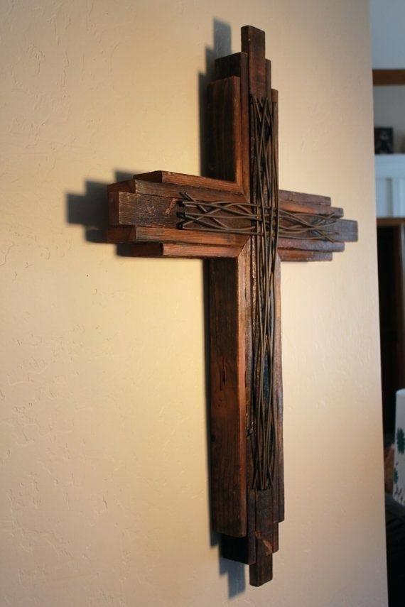 Crosses - Wooden Cross Wall , HD Wallpaper & Backgrounds
