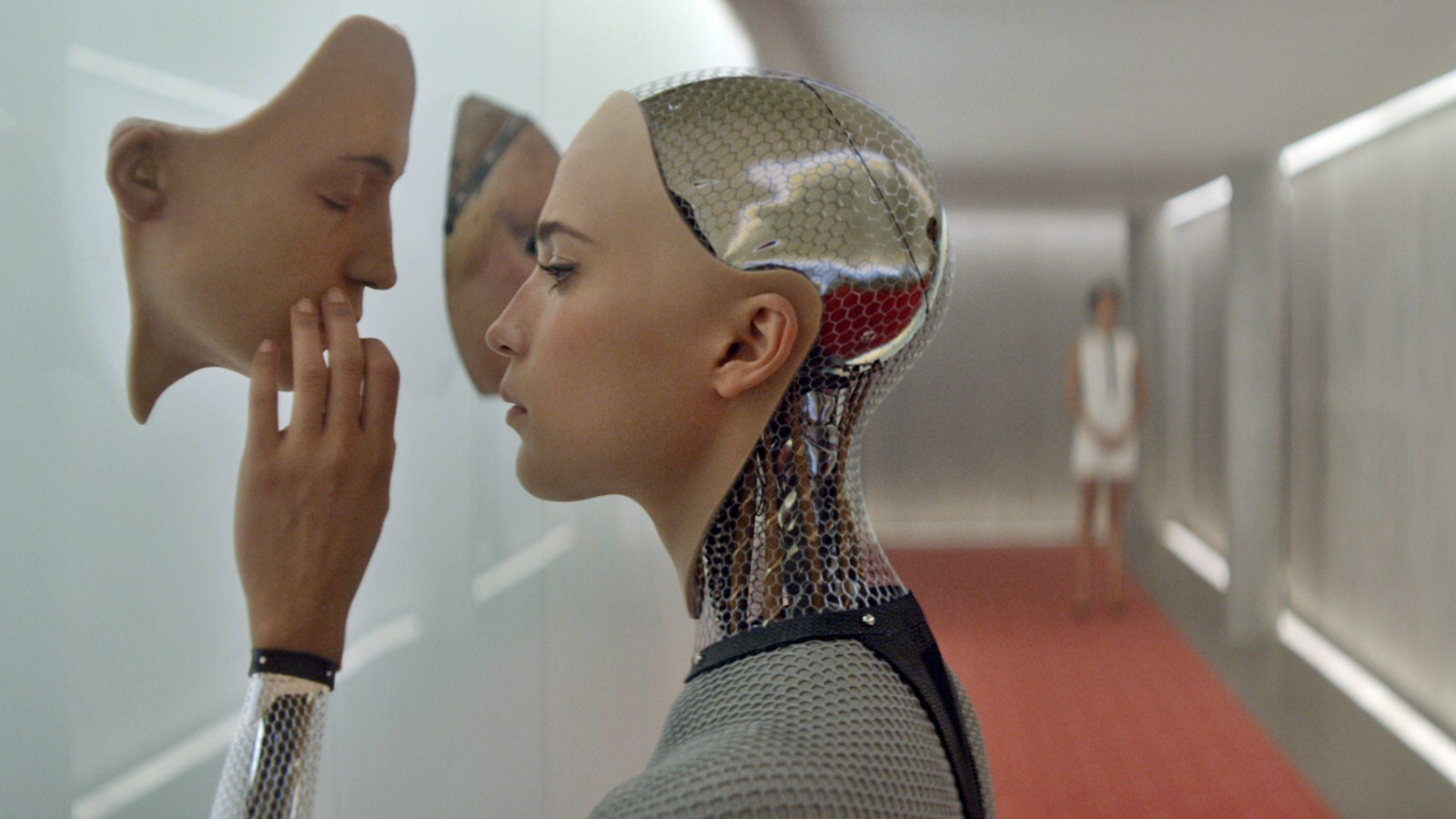 Check Out This New Ex Machina Trailer To Go Along With - Alice And Bob Robots , HD Wallpaper & Backgrounds