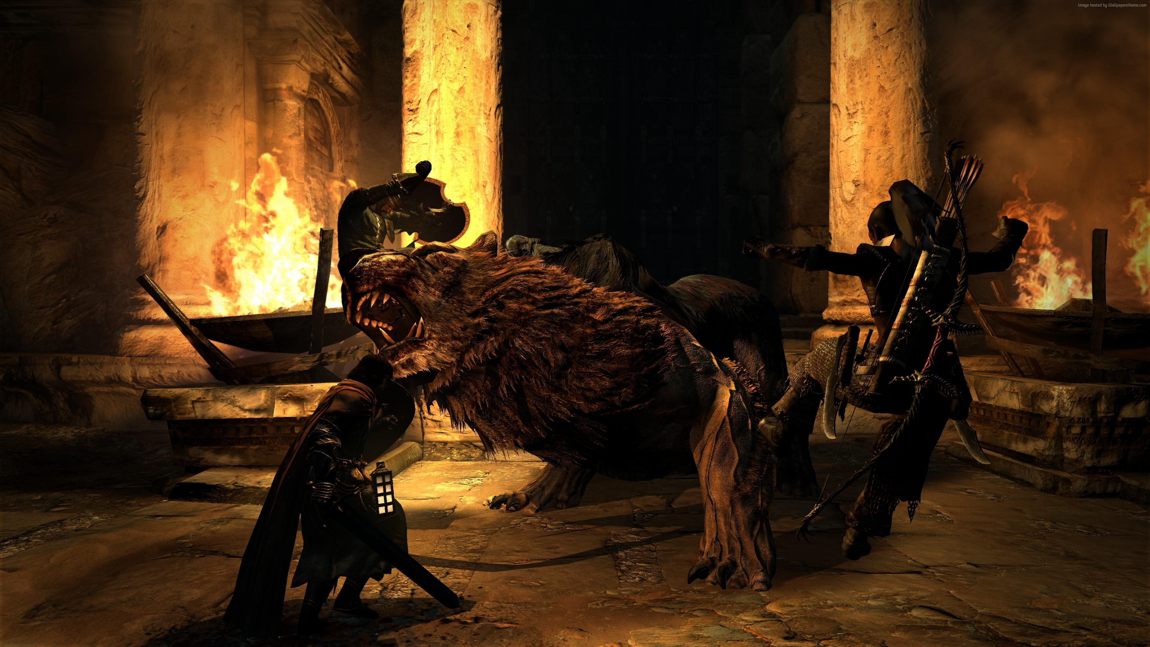 Dark Arisen, #lion, #pc, #best Games - Dragon's Dogma Dark Arisen 4k , HD Wallpaper & Backgrounds
