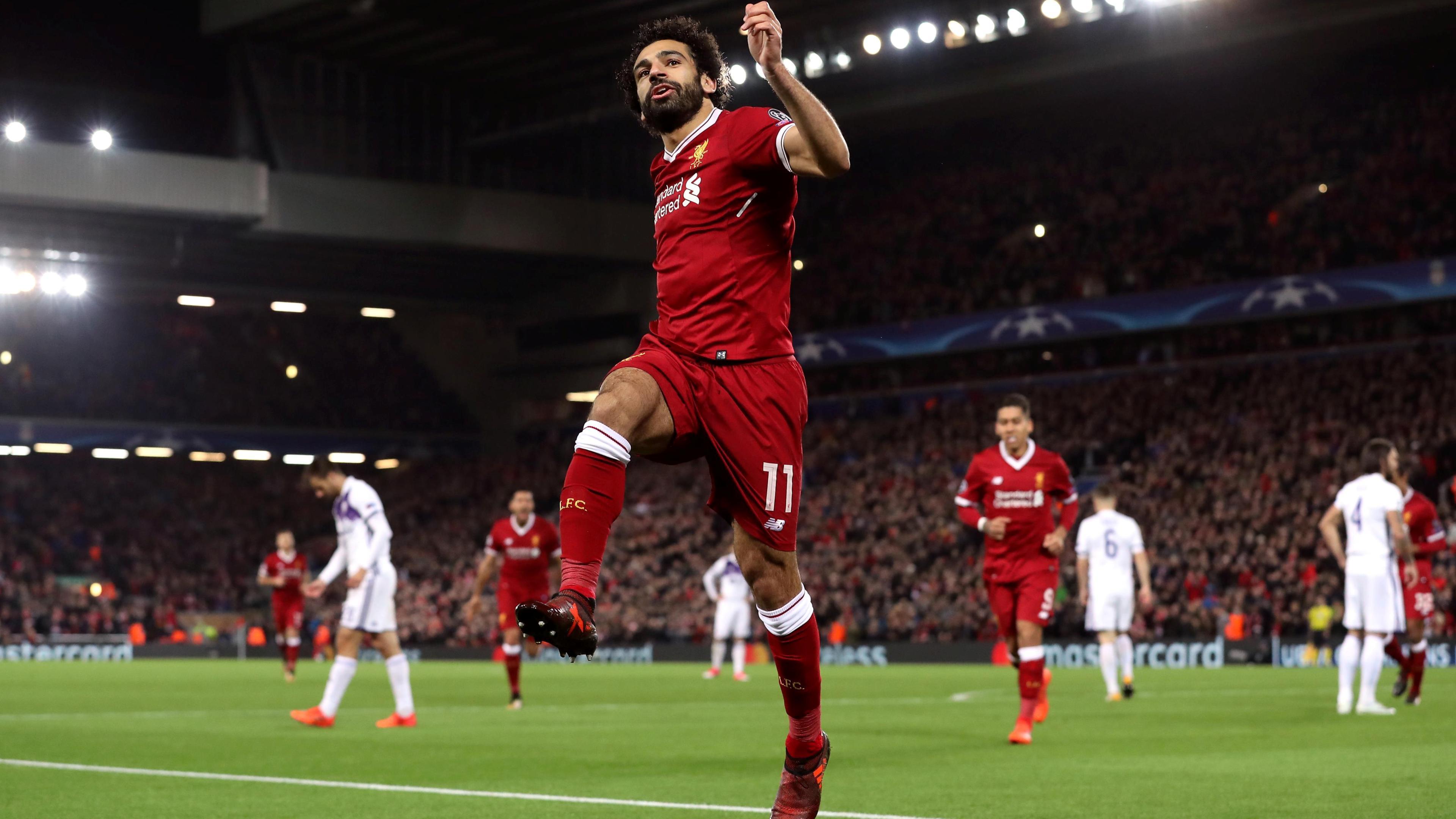 Mohamed Salah Egyptian Footballer Fifa World Cup 2018 Fifa World