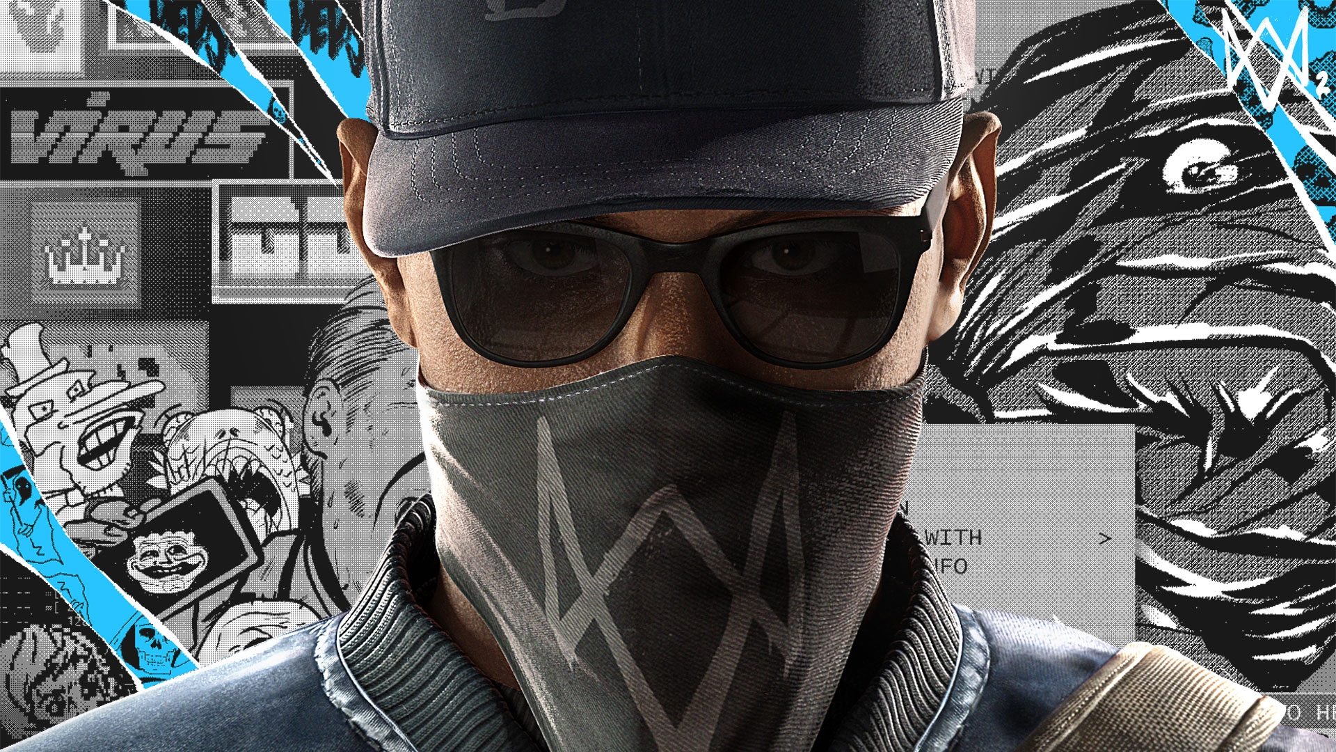 Photo Wallpaper Ubisoft San Francisco Game Marcus Watch Dogs