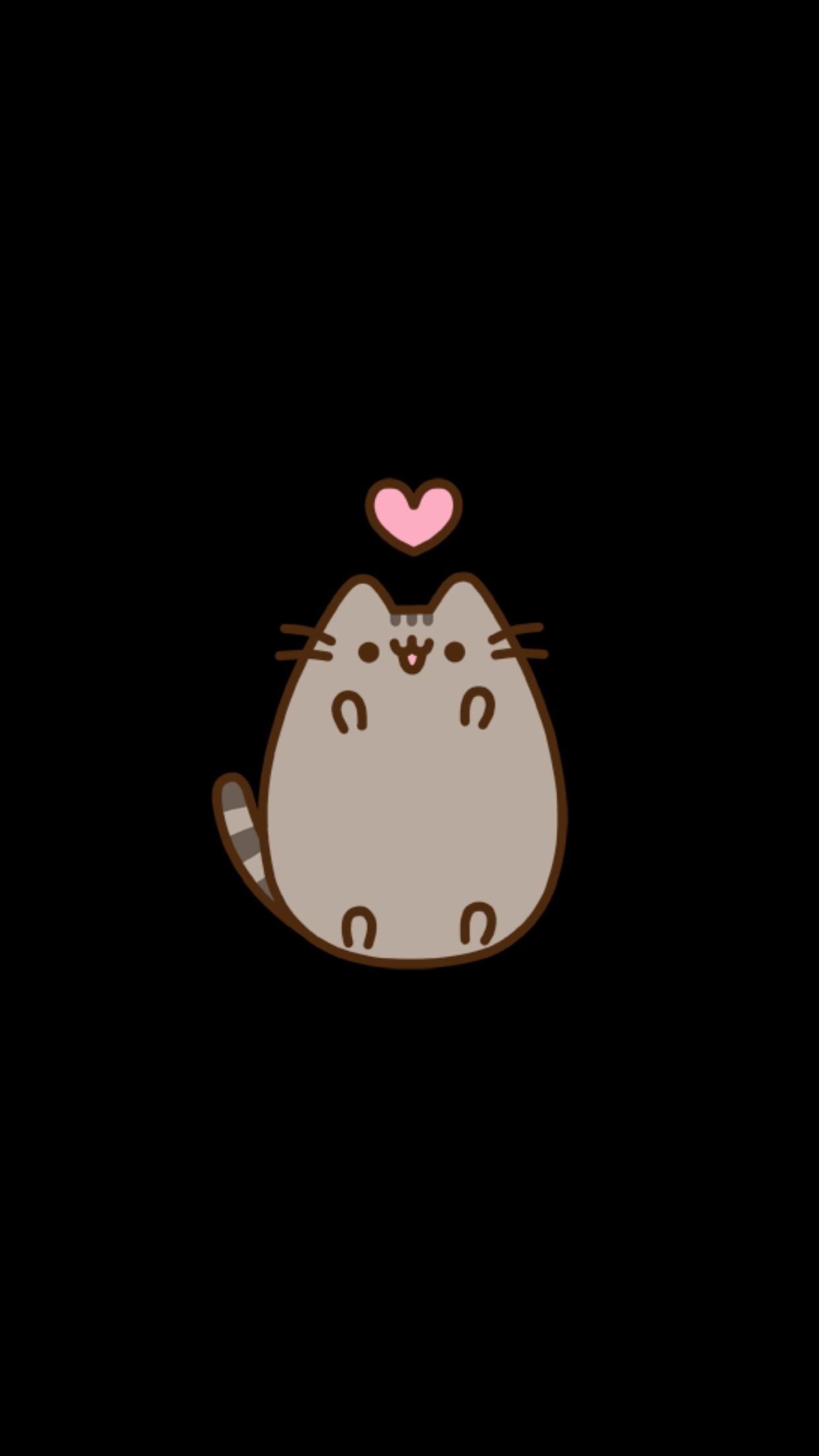 Wallpaper Iphone Cute Wallpapers Pusheen Nyan Cat Gif - Cute Wallpaper Iphone Pusheen , HD Wallpaper & Backgrounds