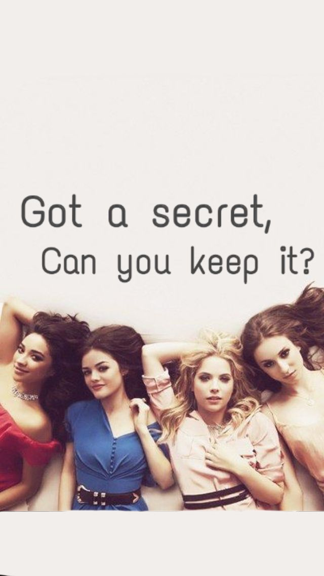 Pretty Little Liars - Pretty Little Liars Wallpaper Iphone , HD Wallpaper & Backgrounds