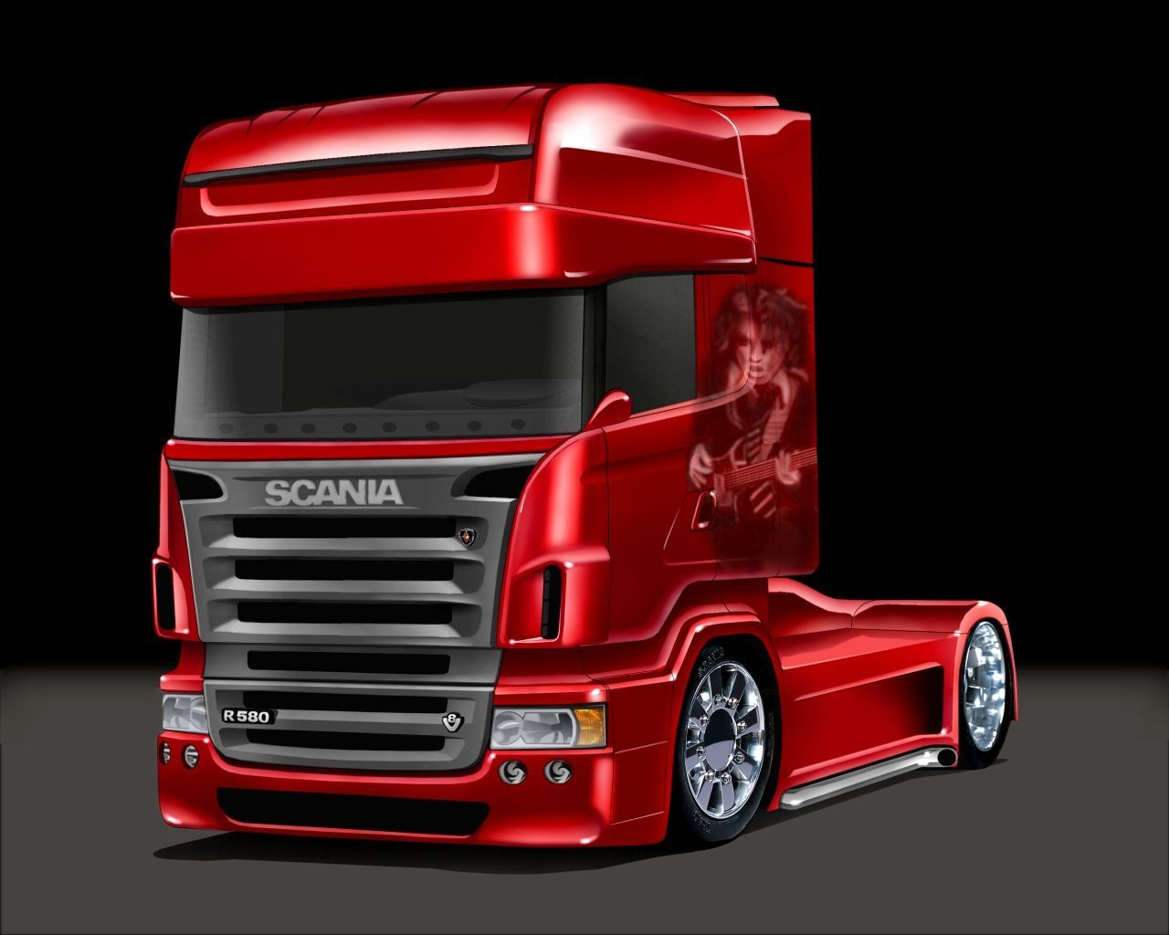 19 195488 back to 69 scania trucks wallpapers red truck