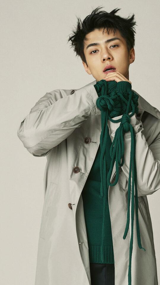 Sehun Wallpaper - Lockscreen Sehun Exo Hd , HD Wallpaper & Backgrounds