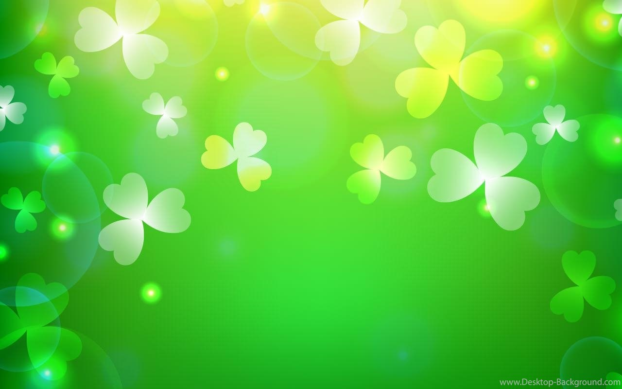 Widescreen Cute St Patrick S Day Background 195989 Hd