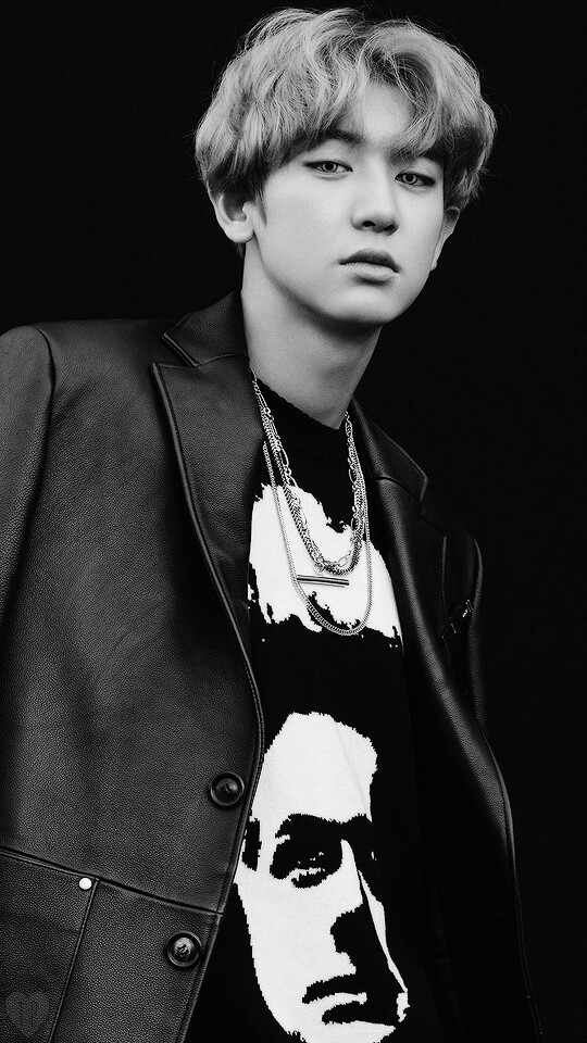 Chanyeol Wallpaper Tags - Chanyeol Exo Black And White , HD Wallpaper & Backgrounds