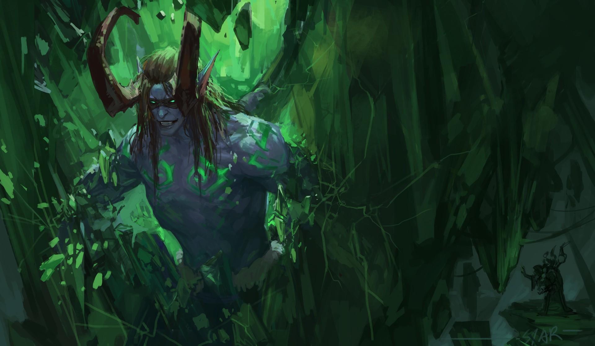 World Of Warcraft World Of Warcraft Legion Illidan Wow