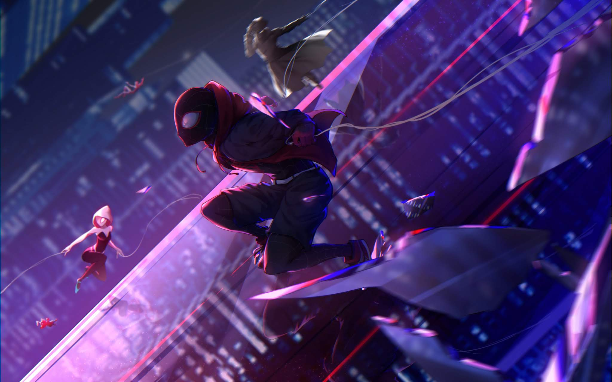 No Aranhaverso Spider Man Into The Spider Verse 198945 Hd