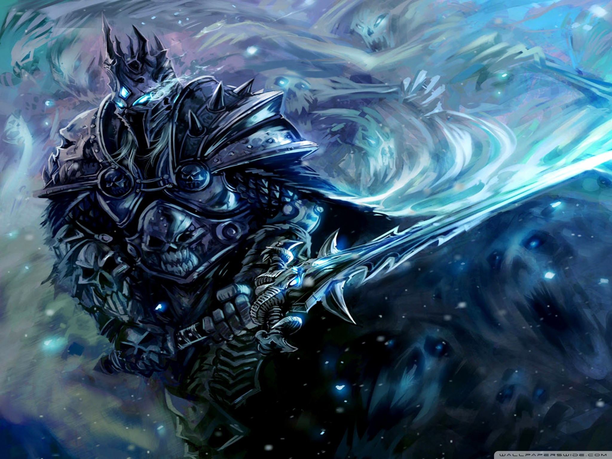 Illidan Vs Arthas Wallpaper Lich King 199097 Hd