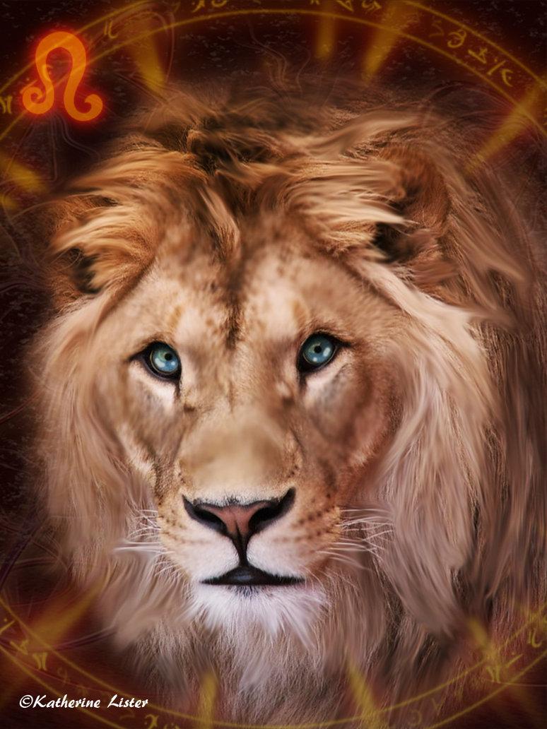 Free Zodiac Wallpaper At Astrology Leo Zodiac Hd Wallpapers - Masai Lion , HD Wallpaper & Backgrounds