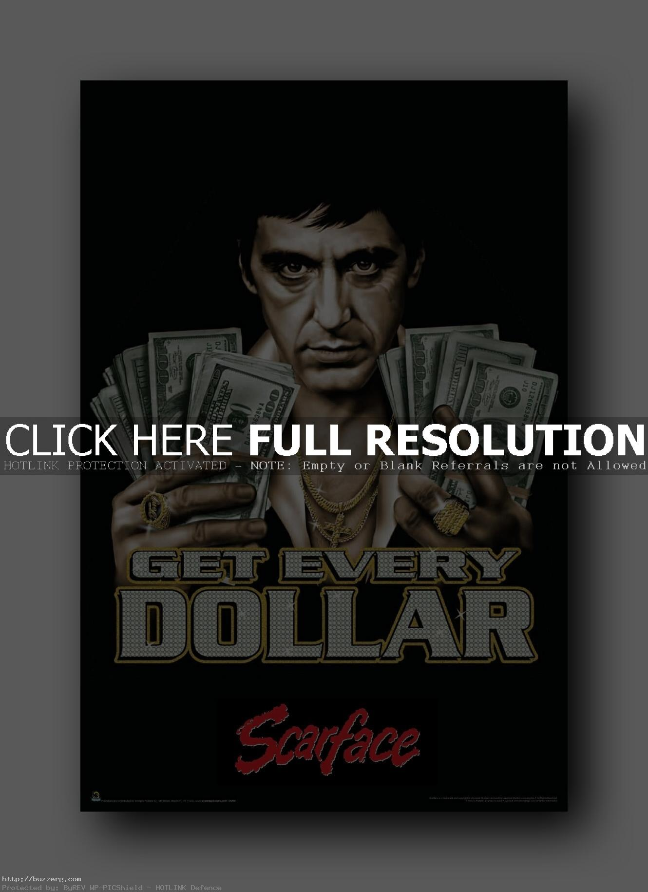 Scarface Iphone Wallpaper Al Pacino Get Every Money