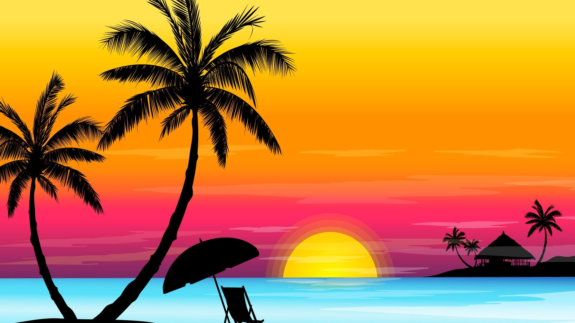 26+ Beach Background Cartoon Hd Pictures