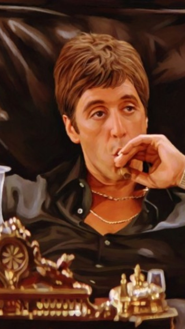 Scarface Wallpaper For Iphone Tony Montana Quotes Trust