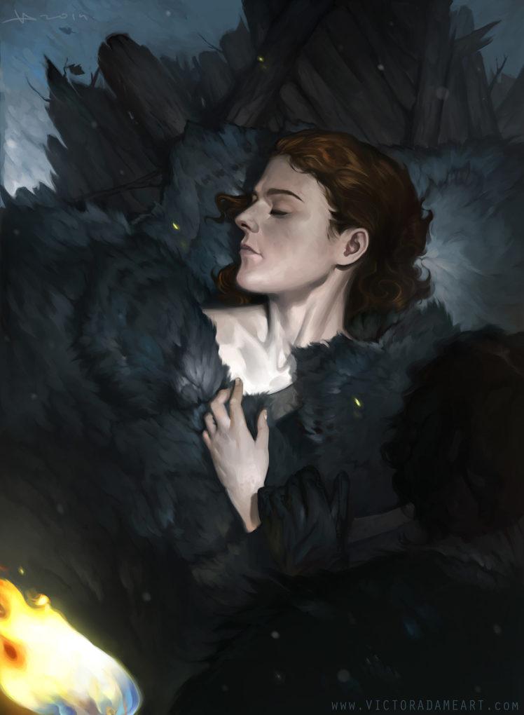 Ygritte, Redhead, Women, John Snow, Game Of Thrones, - Game Of Thrones Ygritte Art , HD Wallpaper & Backgrounds