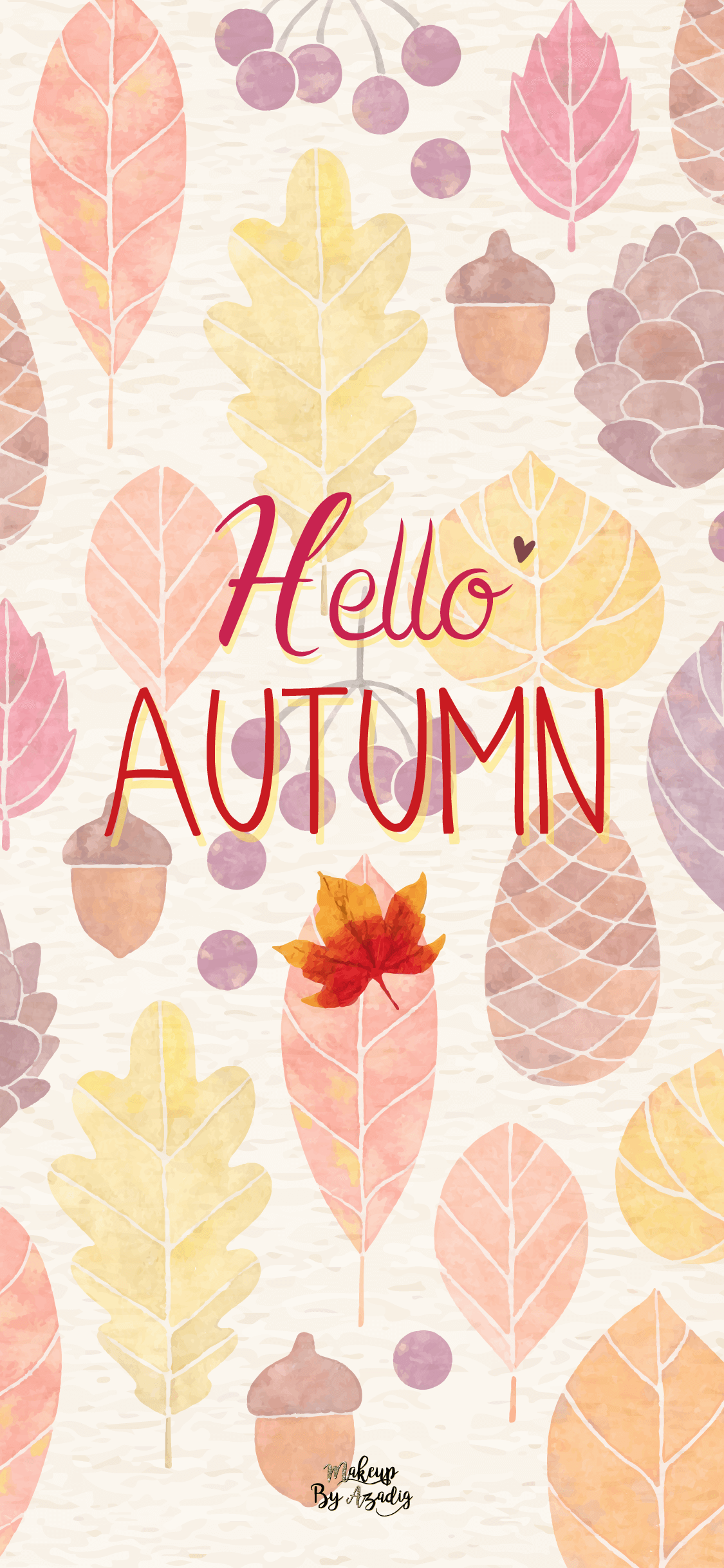 6 Fond D Cran Hello Autumn Wallpaper Makeupbyazadig - Fond D Écran Automne Iphone , HD Wallpaper & Backgrounds