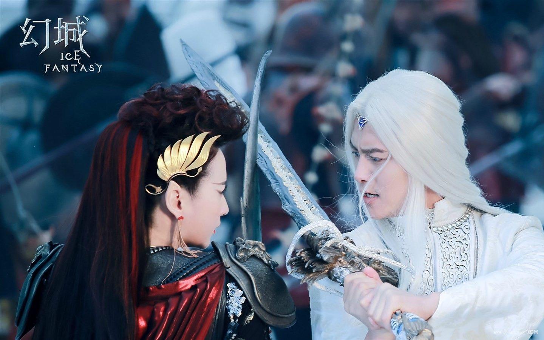 Yan Da Et Ying Kong Shi Ice Fantasy - Ice Fantasy Ying Kong Shi And Yan Da , HD Wallpaper & Backgrounds
