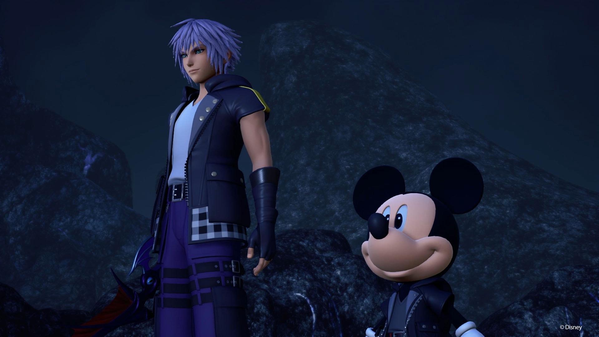 Catch Up With Kingdom Hearts Riku And Mickey Kingdom Hearts 3