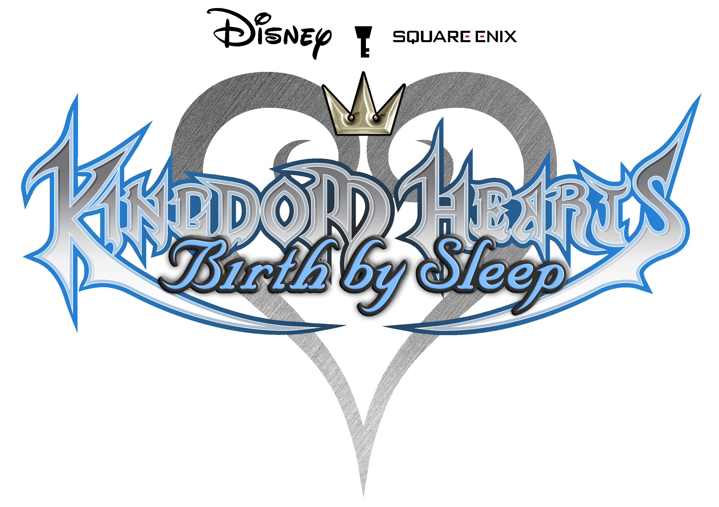 Kingdom Hearts Birth By Sleep Final Mix Logo , HD Wallpaper & Backgrounds