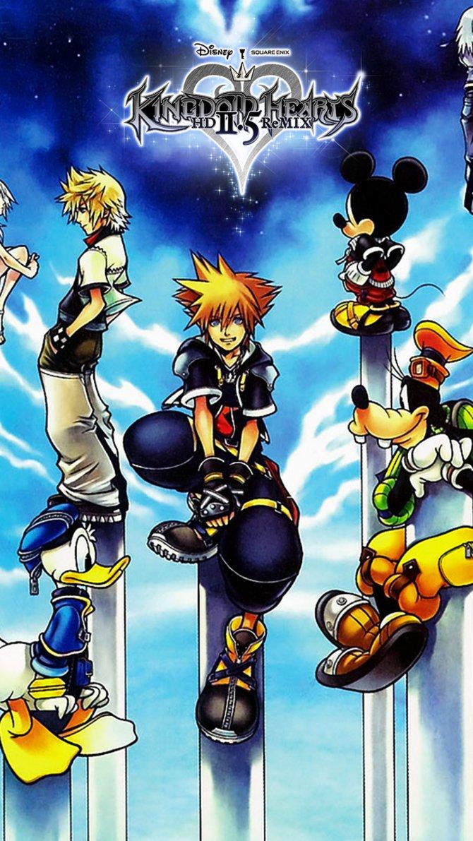 Official Kingdom Hearts Art 1908563 Hd Wallpaper