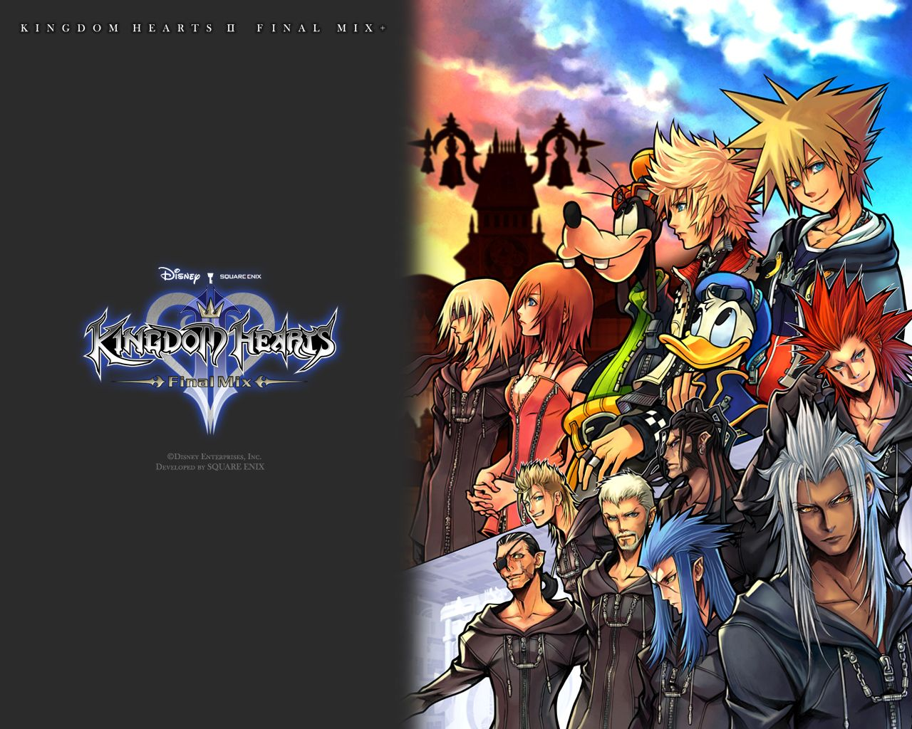 Kingdom Hearts Wallpaper 1920*1080 - Kingdom Hearts , HD Wallpaper & Backgrounds