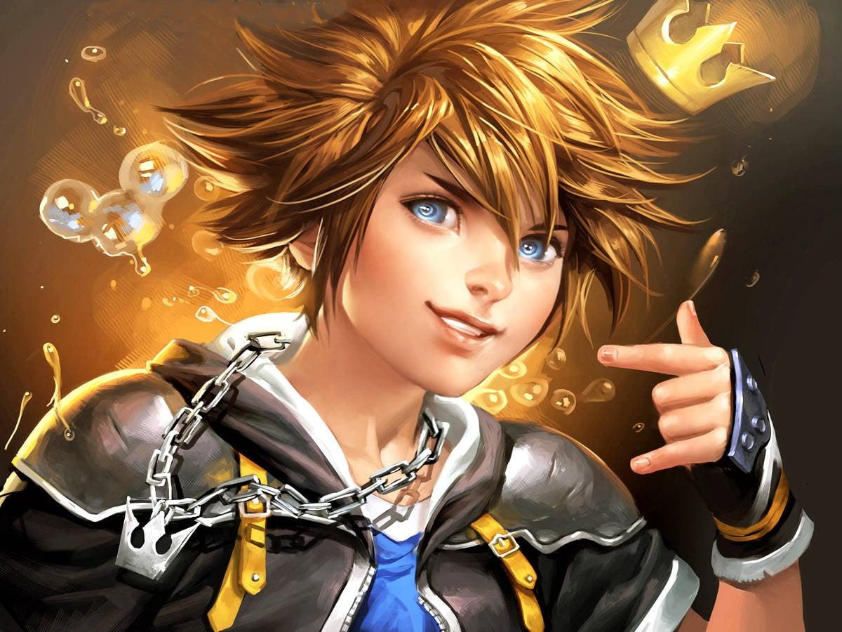 Male Anime Character Wallpaper, Anime Boys, Digital - Kingdom Hearts Sora Realistic , HD Wallpaper & Backgrounds