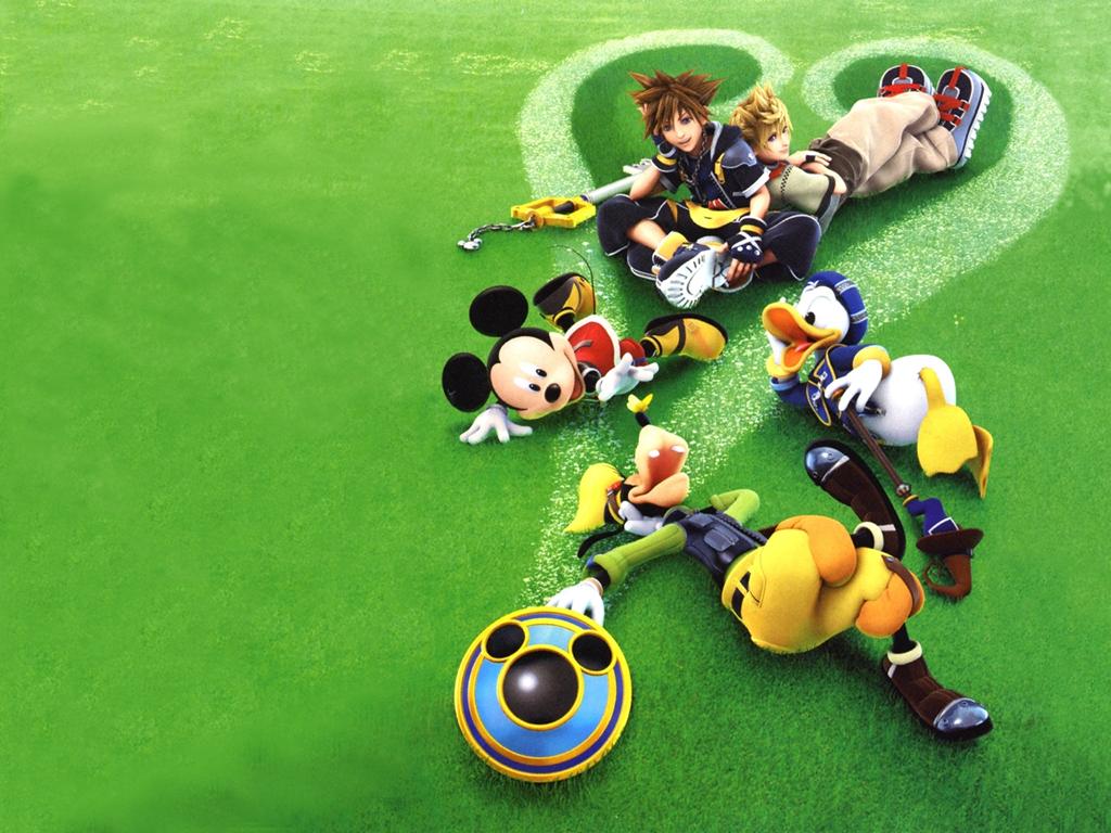 Kingdom Hearts Sora Mickey Goofy Donald , HD Wallpaper & Backgrounds