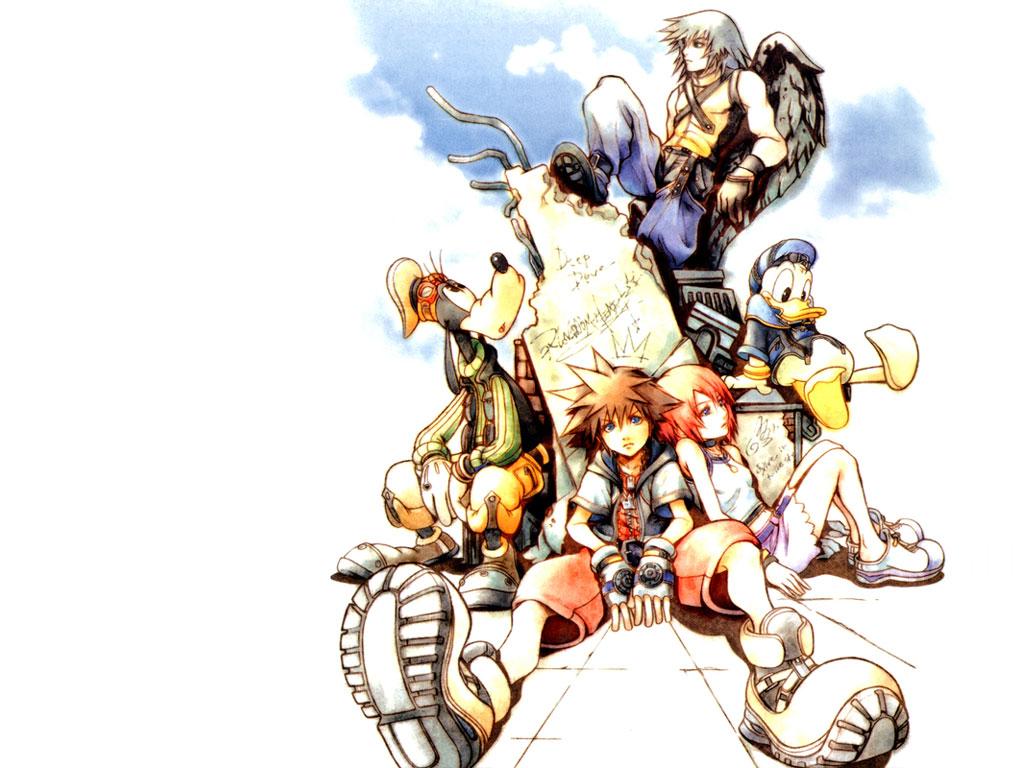 Kingdom Hearts Wallpaper - Kingdom Hearts Final Mix Box Art , HD Wallpaper & Backgrounds