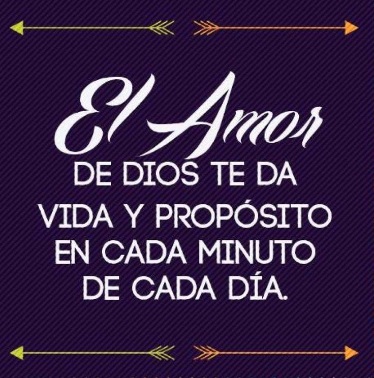 Frases Palabras Amor Vida Español Dios Con Propósito