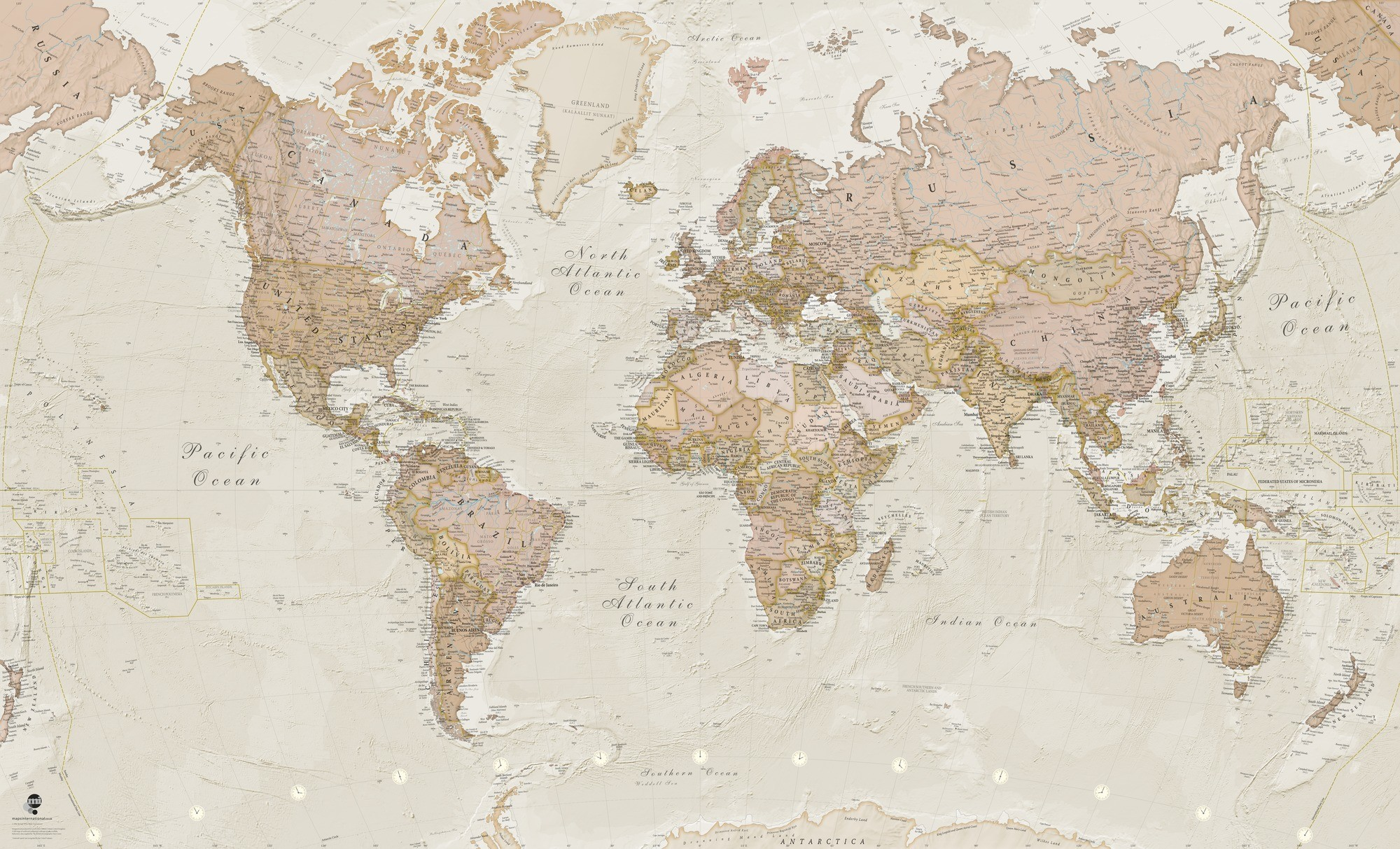 World Map Vintage , HD Wallpaper & Backgrounds