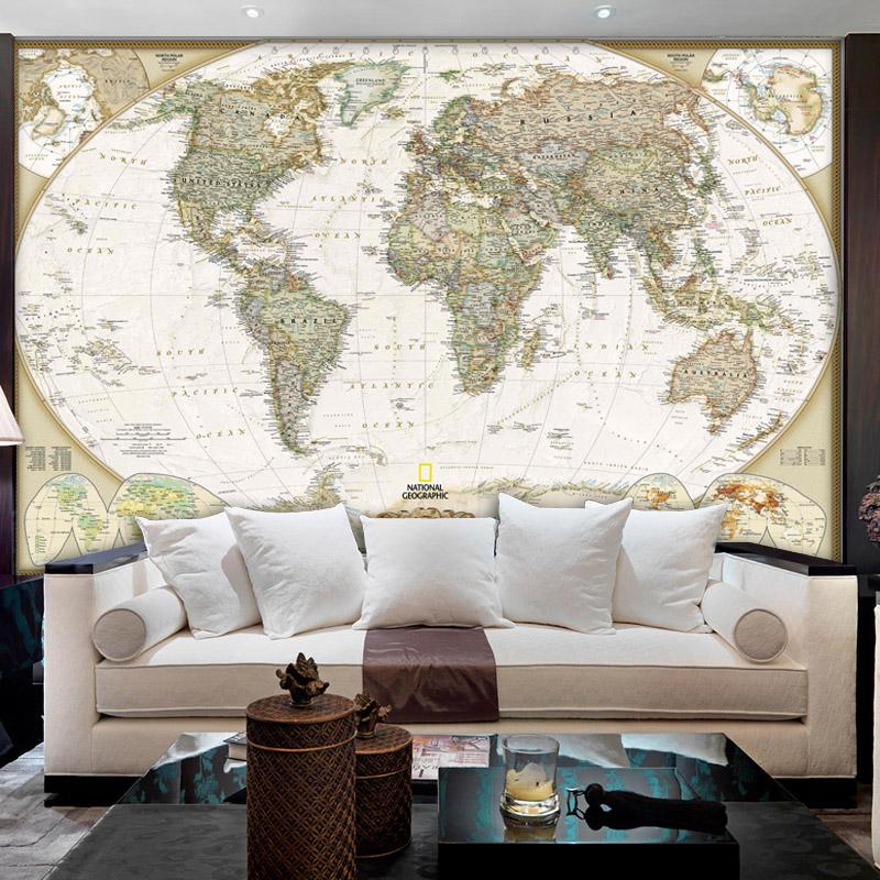Wallpaper 17 Best Ideas About World Map Mural On Pinterest