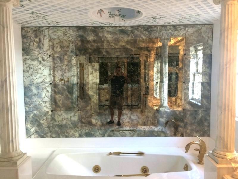 Antique - Mirror Antique Wall , HD Wallpaper & Backgrounds