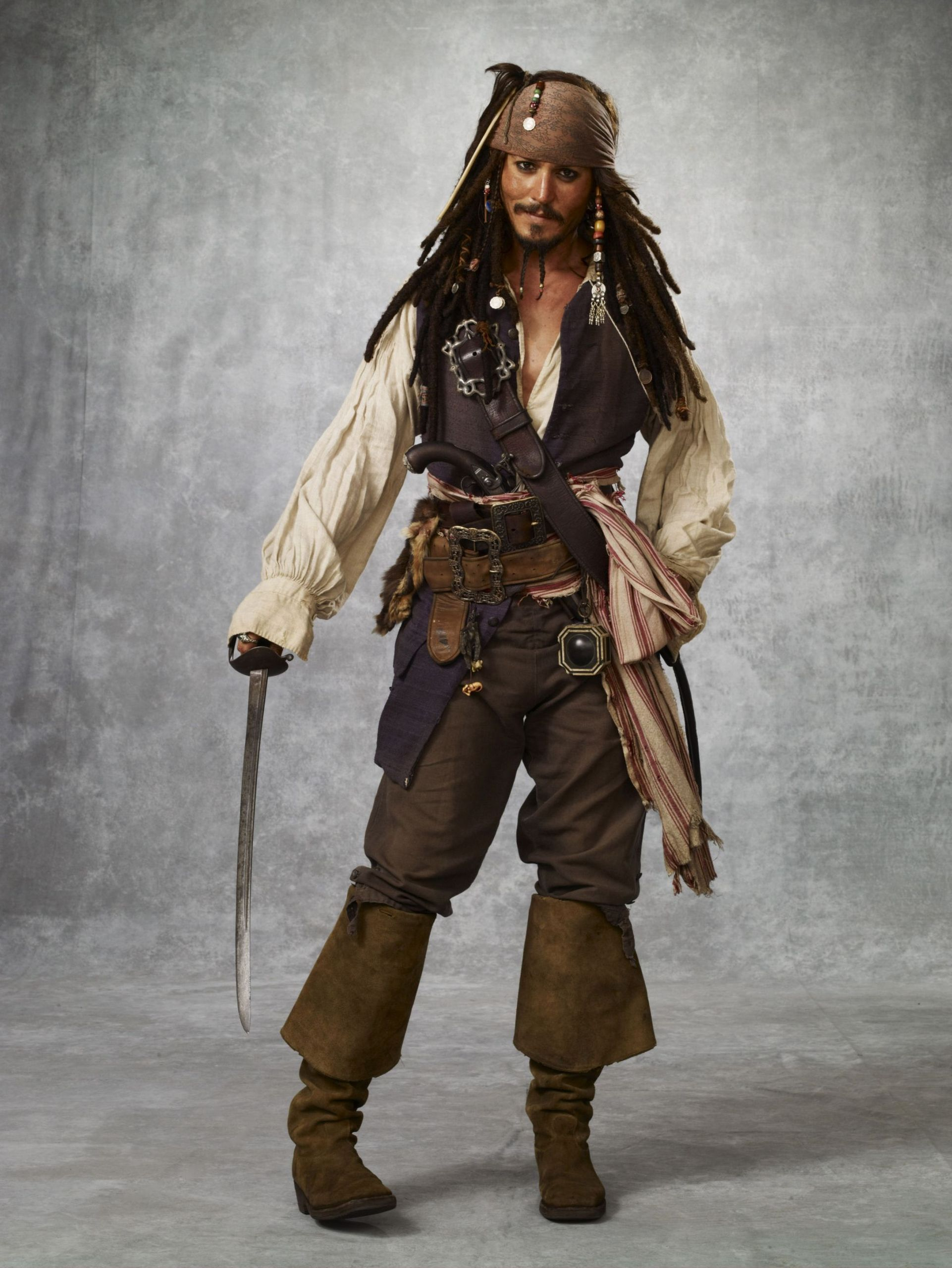 Pirates Of The Caribbean 1 Jack Sparrow , HD Wallpaper & Backgrounds