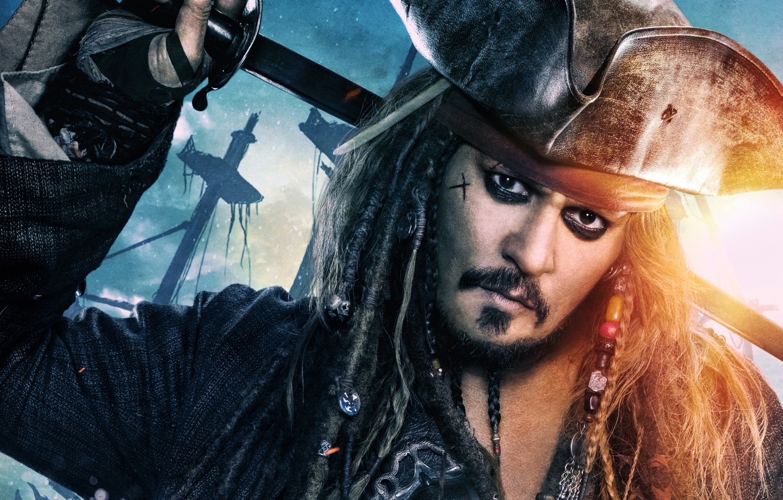 Photo Wallpaper Decoration Johnny Depp Hat Fantasy