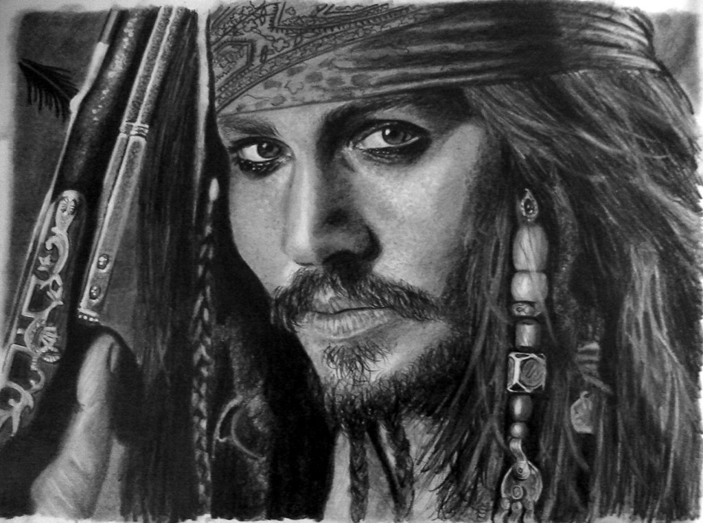 The Older Version Of A Pirate - Captain Jack Sparrow , HD Wallpaper & Backgrounds