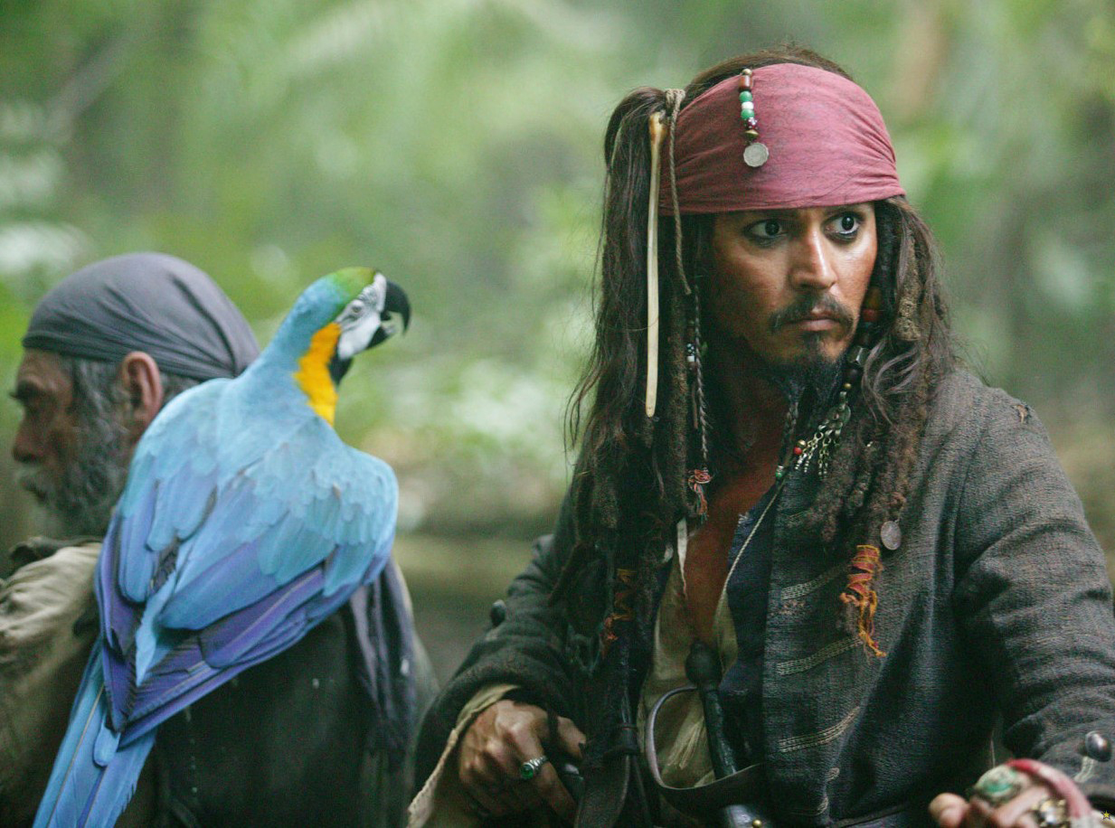 Com The Johnny Depp Zone - Jack Sparrow Dead Man's Chest , HD Wallpaper & Backgrounds