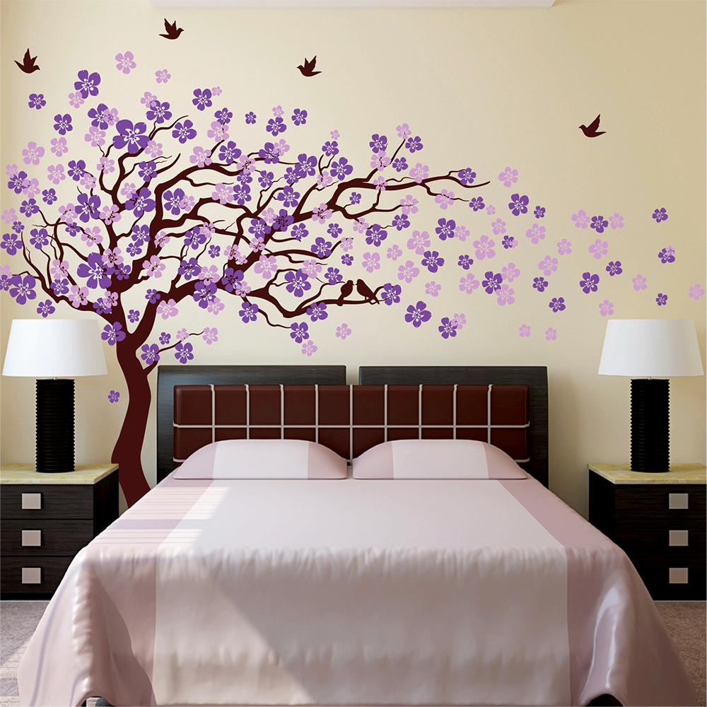 Cherry Blossom Tree Removable Wall Decal Pt 0182 2 Cherry
