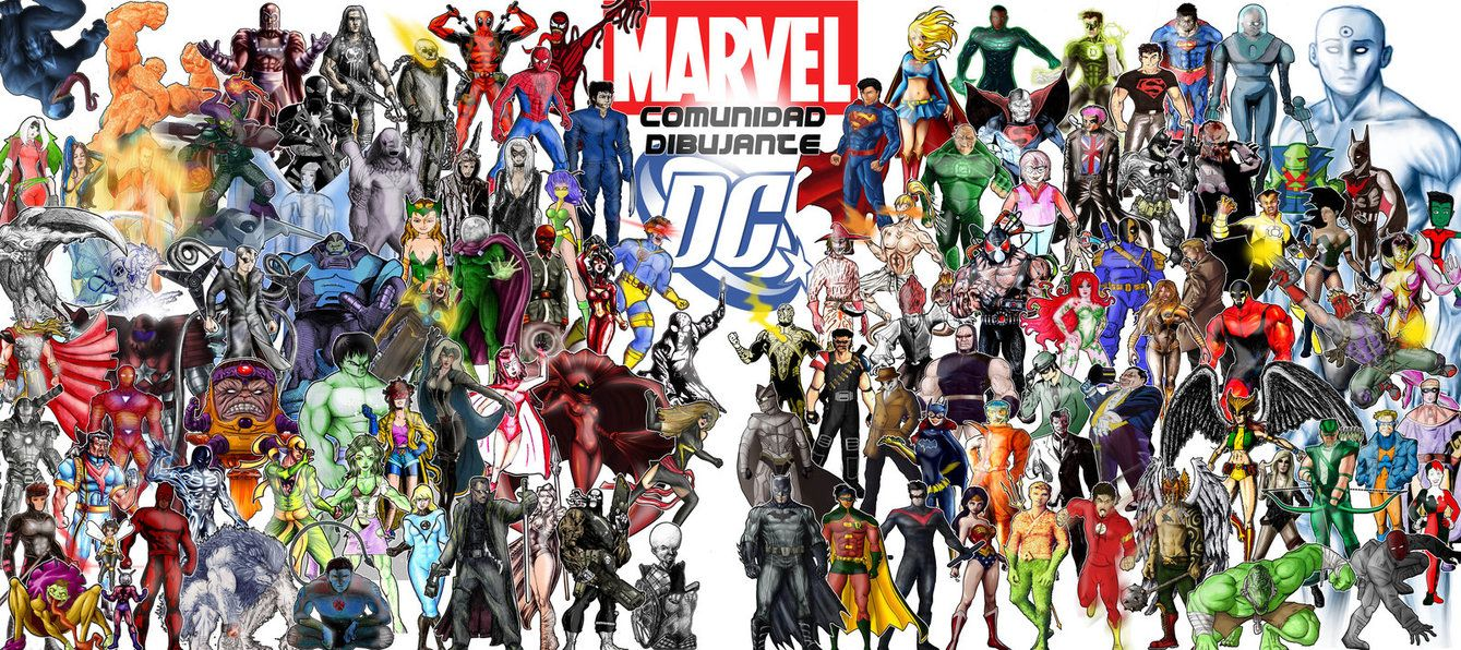 Marvel Dc Wallpapers 1918767 Hd Wallpaper Backgrounds Download