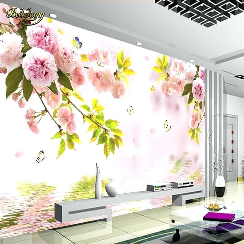China Cherry Blossom Wall Stickers Waterproof Background - Bamboo Design Wall Tiles , HD Wallpaper & Backgrounds