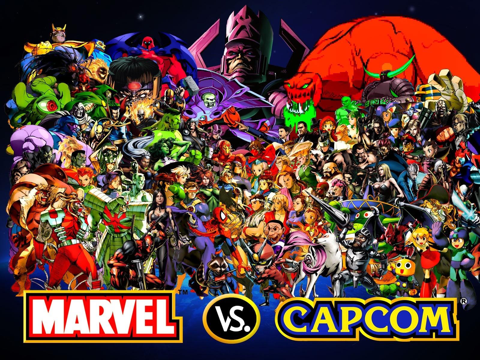 Capcom 2 Hd Wallpaper Hd Marvel Vs Capcom Wall Paper 1918993