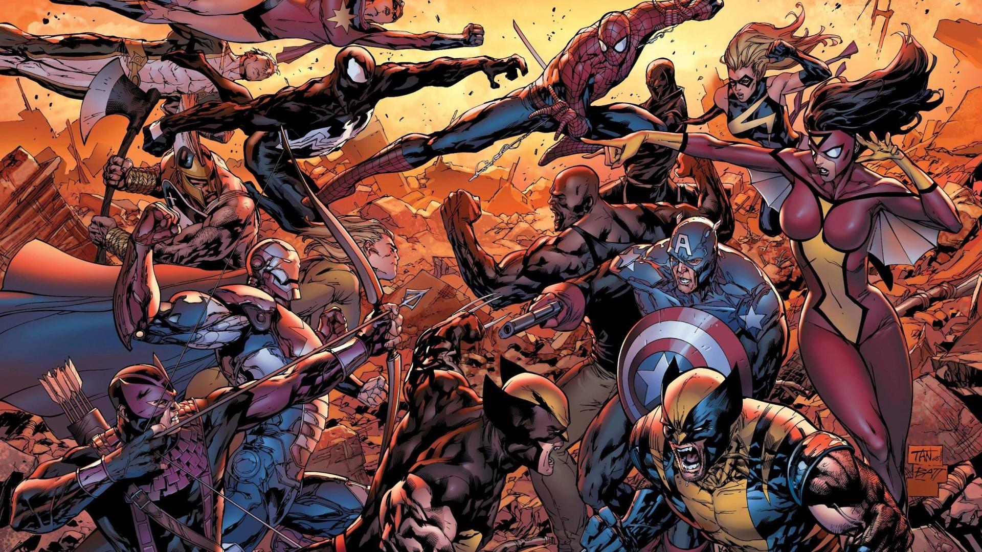 Marvel Comics Wallpapers Download 1919158 Hd Wallpaper