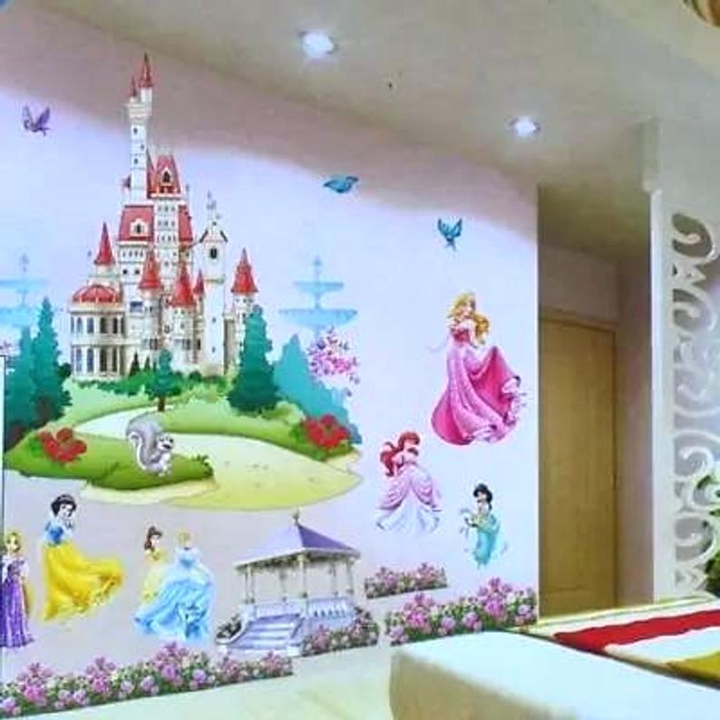 Princess Wall Mural Image 0 Murals Uk Disney Made To Princess Large Wall Stickers 1920554 Hd Wallpaper Backgrounds Download
