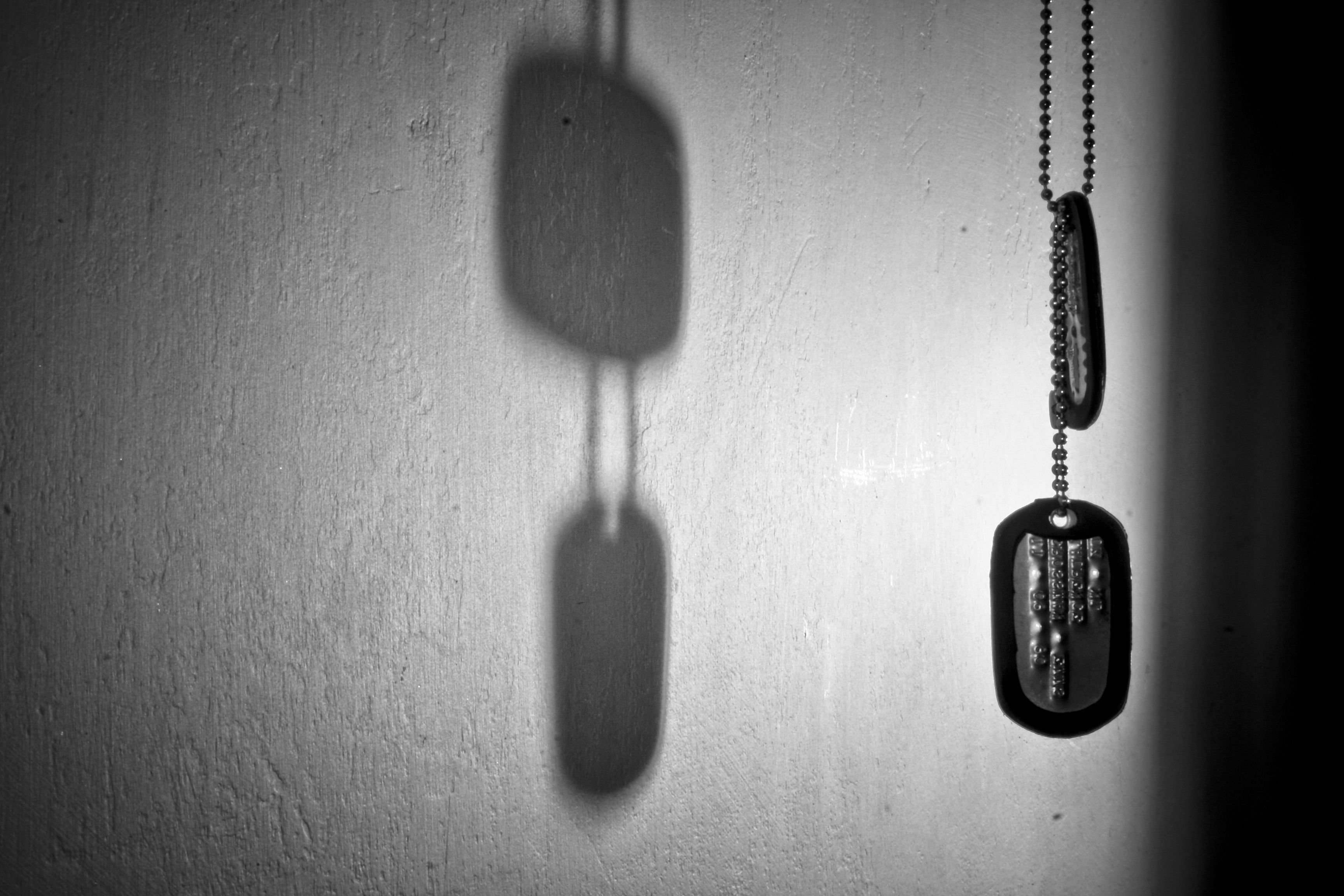 Dog Tags, Dog Tag Necklace, Wallpaper, Product Shot, - Military Dog Tag Background , HD Wallpaper & Backgrounds