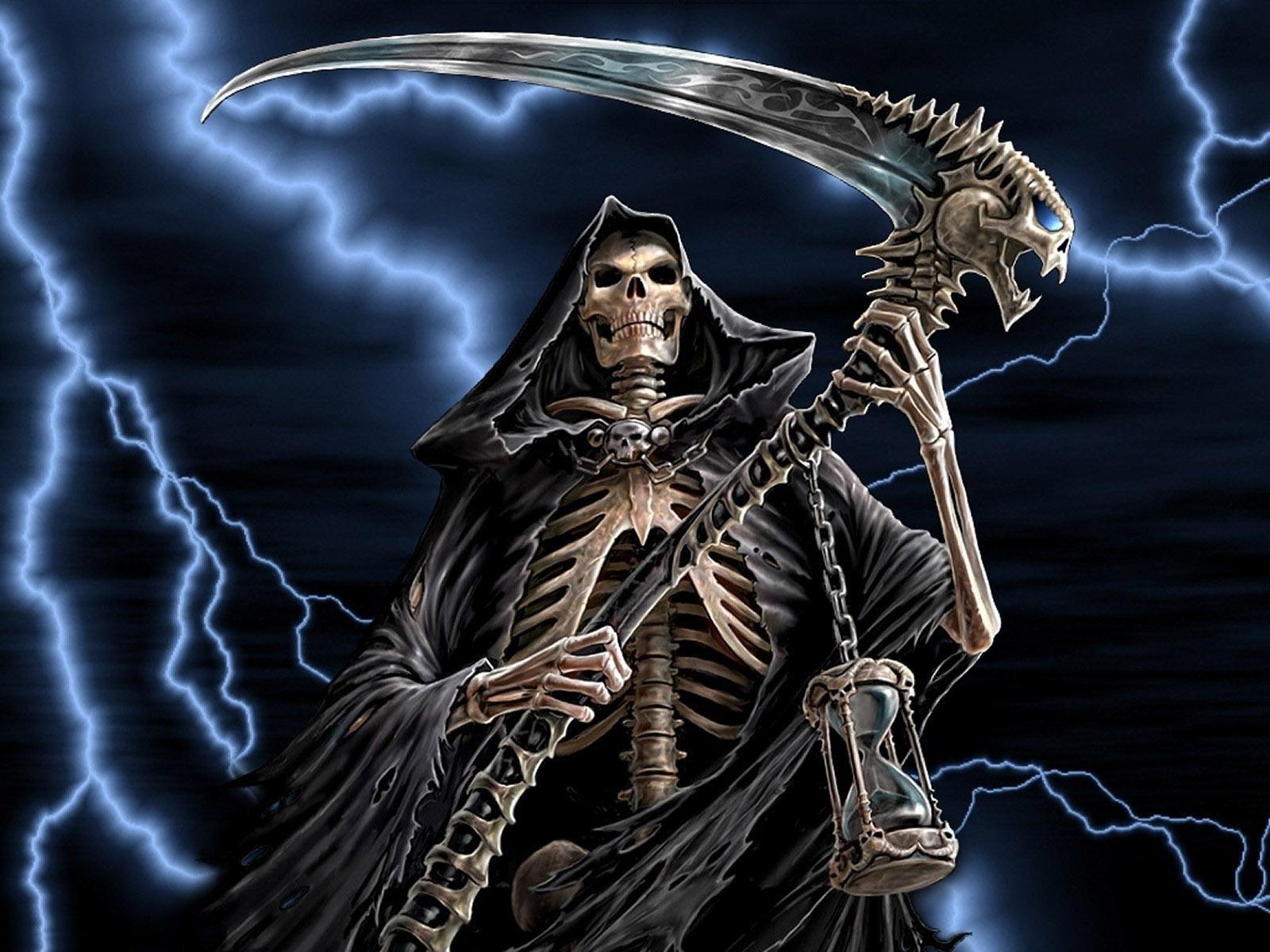 Hd Wallpaper - Grim Reaper , HD Wallpaper & Backgrounds