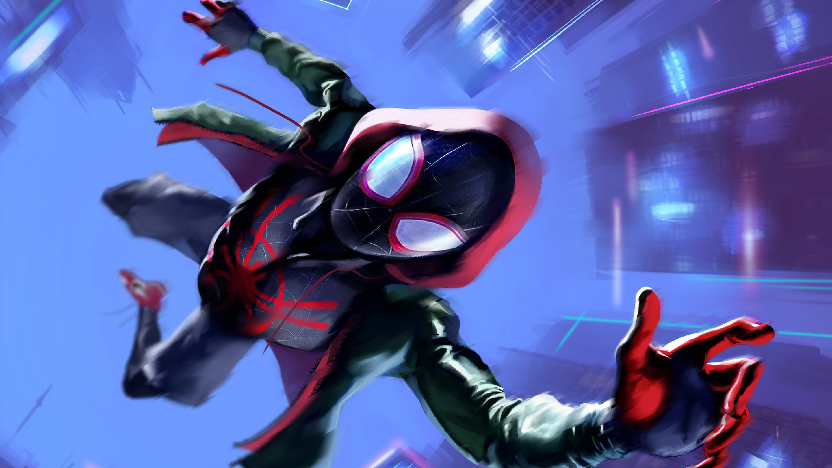 Into Spider Man The Spider Verse Miles Morales 1926755 Hd