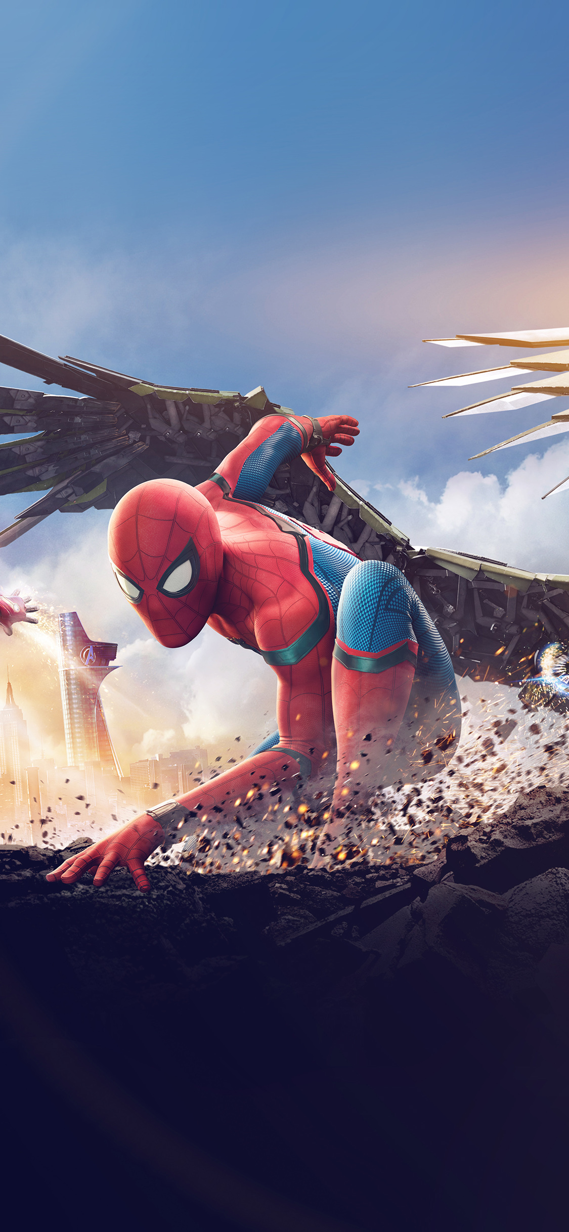 Iphone X Spider Man Homecoming 1926819 Hd Wallpaper