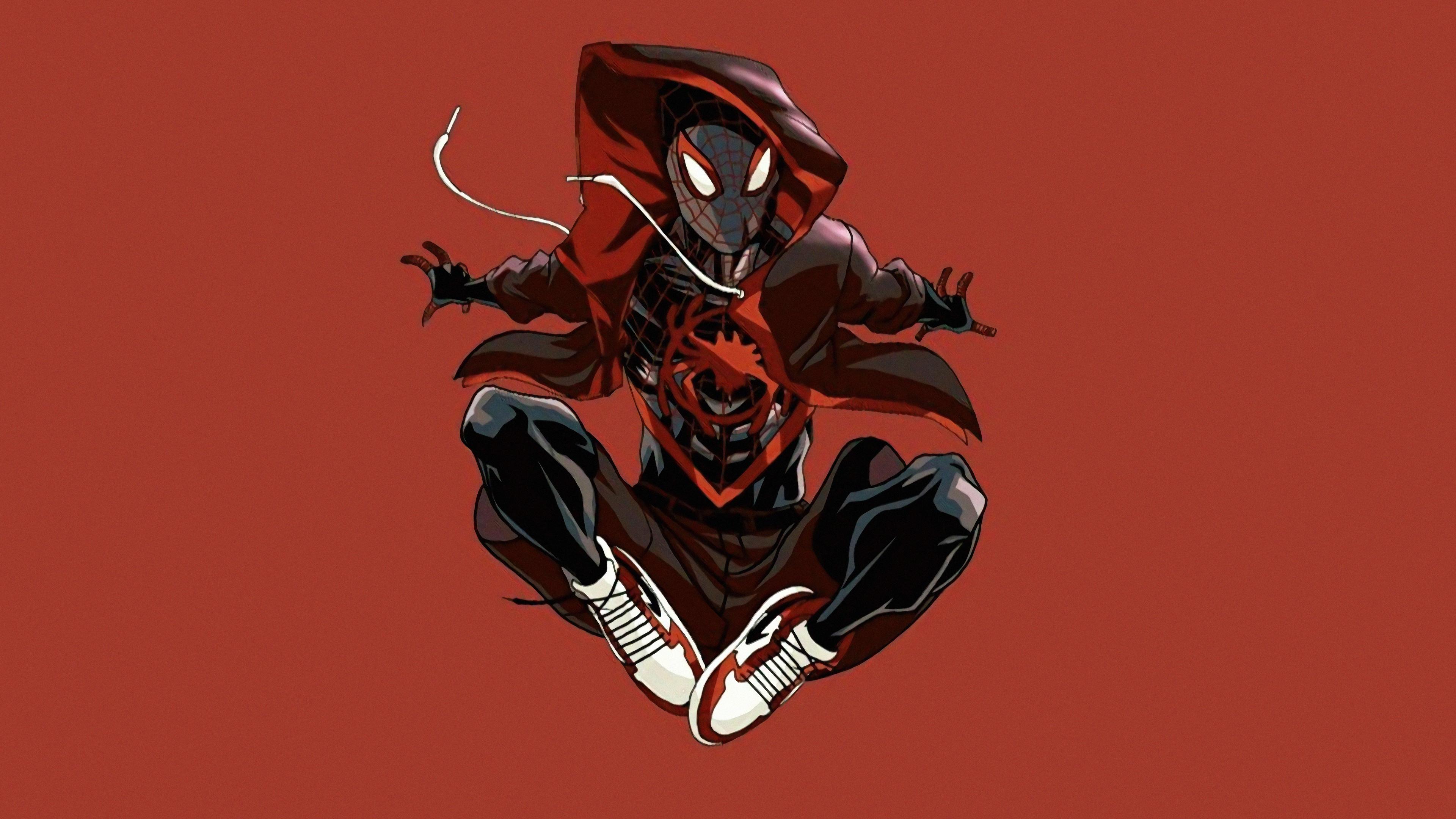 Miles Morales Spider Man Illustration 1926994 Hd Wallpaper